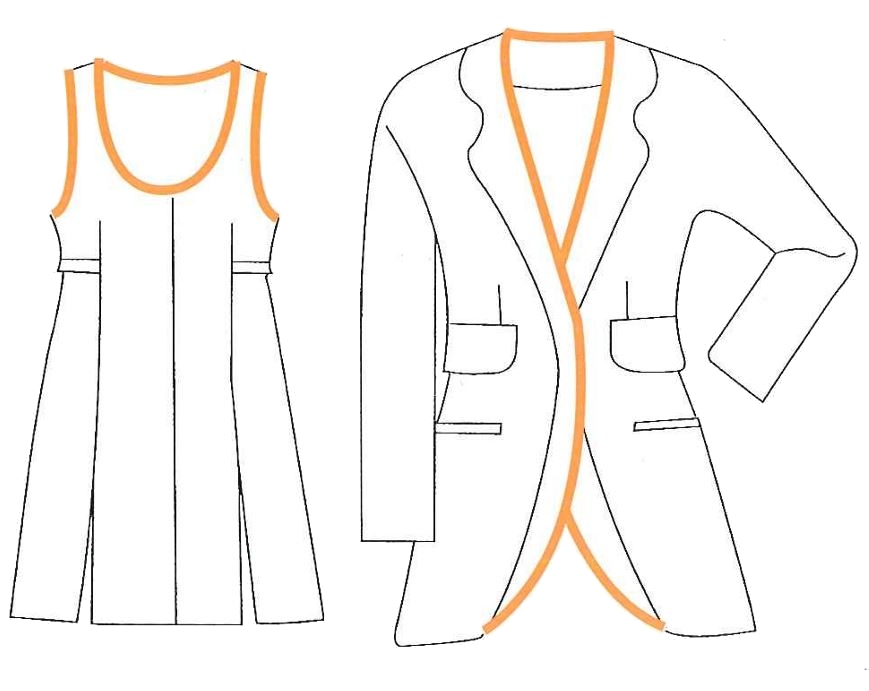 Rinforzi per capi d'abbigliamento